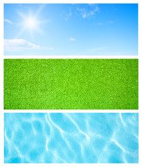 Summer natural backgrounds