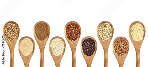 Fotobehang Granen gluten free grains