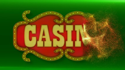 colorful signboard for your online - casino