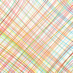 Abstract rainbow curved stripes color line background