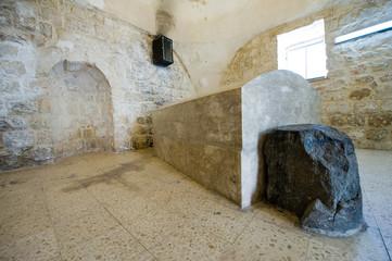 Joseph's tomb in Nablus