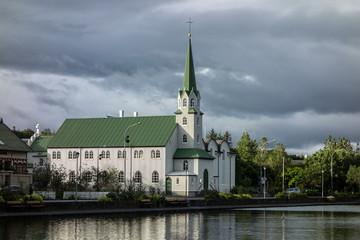 Frikirkjan church