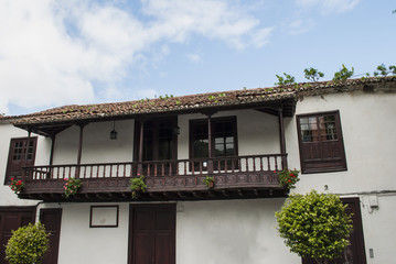 Mediterranean house with balcony