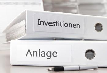 Investitionen und Anlage - Ordner