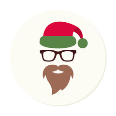 Santa Claus vector icon