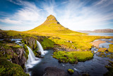 Kirkjufell Mountain, Iceland, Snaefellsnes peninsula landscape poster