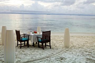 Tavolo per cena romantica