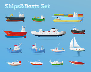 Ships & Boats set