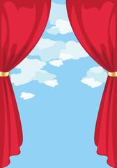 Sipario Rosso-Red Curtain