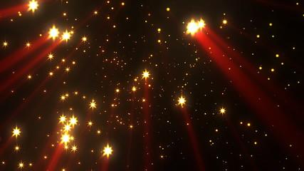 звёзды  падают