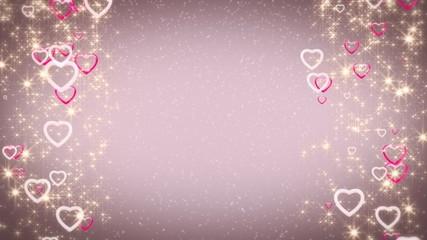 гламурные  сердца