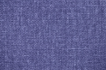 Blue linen fabric texture background