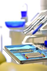 Inside a dentist ambulance