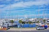 touristic dock in Rimini, Italy