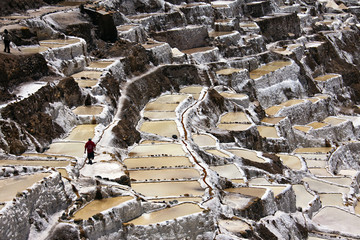 Saline di Cusco, vasche di sale