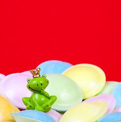 Geburtstagskarte mit Frosch