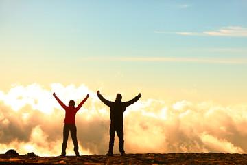 Success, achievement and accomplishment concept