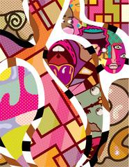 CutOut Abstract Vector art compilation
