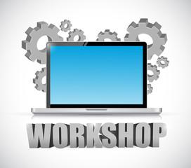 computer workshop concept