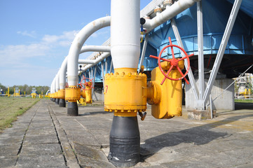 drying gas,  industry, technology, gas, pump, tap; ventel; valve