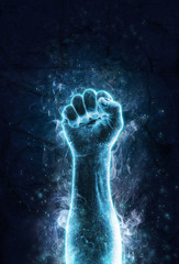 Fist of ice