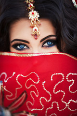 Indian woman bride