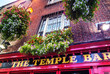 Leinwanddruck Bild - The Temple Bar – Dublin Irleand