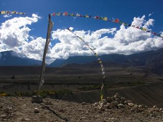 Monumento buddhista in Tibet (2013)