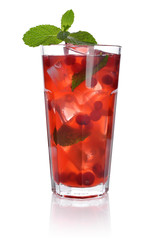 Red berry drink