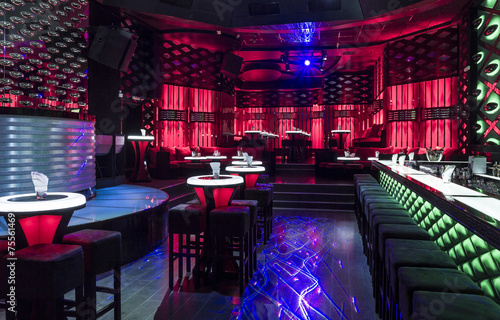 Dance club interior. Payner Premium. Bulgaria, Veliko Tarnovo - 75561469