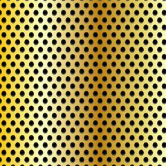Gold real carbon fiber background