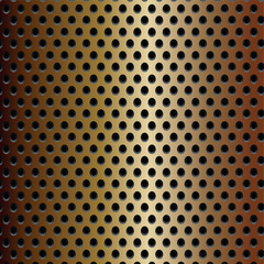 Bronze real carbon fiber background