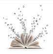 Leinwanddruck Bild - Livre et Litterature et Alphabet
