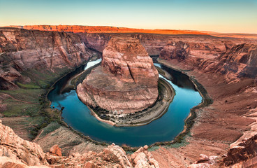 Horseshoe Bend Canyon, Page, Arizona, USA