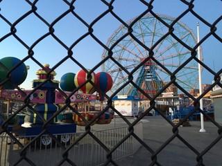 Coney Island lunapark, NYC