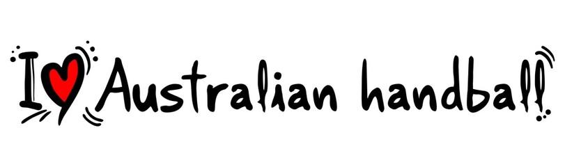 Australian handball love