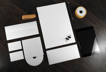 Template for branding identity