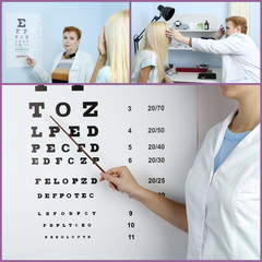 Health care, medicine and vision concept