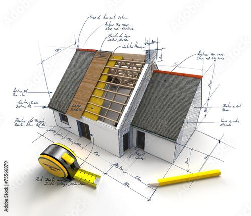 Construction project underway - 75566879