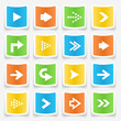 Arrow Sticker Icons