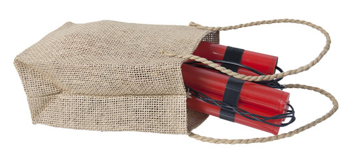 Dynamite in a Burlap Bag