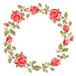 Wreath from rose - 75569687