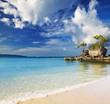 Tropical beach, Boracay, Philippines