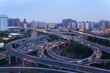 Shanghai overpass