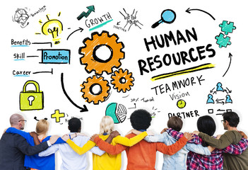 Human Resources Employment Job Teamwork People Friendship