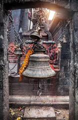 Bell on Durbar square in Kathmandu