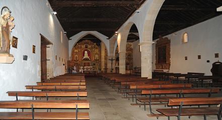 L'ancienne nef de l'église Notre-Dame de Regla à Pájara à Fu