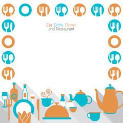 Dinner Restaurant and Eating Frame