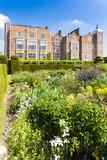 Hatfield House with garden, Hertfordshire, England poster