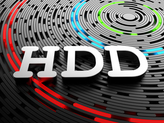 HDD - Hard disk drive